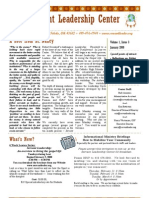 Winter 2008 Servant Leader Center of Toledo Newsletter