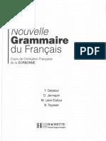 132892777 Nouvelle Grammaire Du Francais Cours de Civilisation Francaise de La Sorbonne