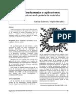 Fractales Fundamentos y Aplicaciones Parte II Aplicaciones en Ingeniería de Materiales