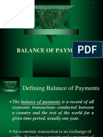 Balance of Payments (1)