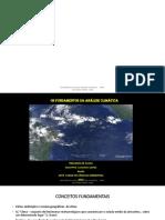 Resumos de Análise Climática 2018