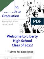 navigating your path to graduation 2018