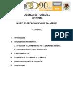 ITZ Agenda Estrategica 2012 2013 ITZ