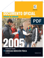 2005 Demre 09 Informativo Ciencias Fisica Parte1