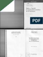 Silvestri-Blanck Bajtin-Vigotsky Organización Semiótica Consiencia