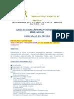 CURSO LICIT. ENF.  PREGÃO - PARA VENDEDORES, GERENTES E EMPRESÁRIOS