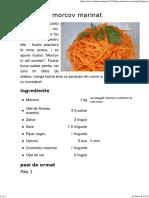 Salata de Morcov Marinat