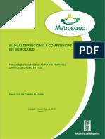 Compendio Planta Temporal UPSS