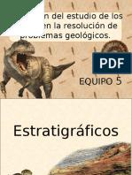 Aplicación Del Estudio de Los Fósiles