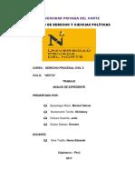 Análisis de Expediente Obligación de Dar Suma de Dinero