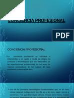 Conciencia Profesional
