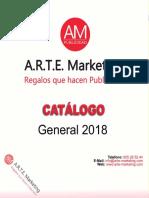 Catálogo Arte Marketing 2018