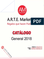Catálogo Arte Marketing 2018