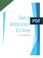 1era y 2da Clase diseño de subestaciones