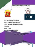 1- Especificacion y Calculos Del Proyectode de Instalaciones Electricas i