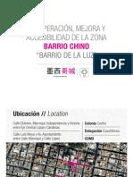 Plan de remodelación del Barrio Chino