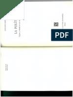 ¿Cuál método?, en La política, Lógica y método en las Ciencias Sociales. Giovanni Sartori