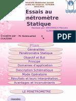 penetrometre statique