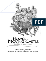 4 Mani Howls Moving Castle - Main Theme 4 Hands 1 Piano Copia