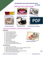 Practica 9 y 10--- Rb --- Gelatinas de Agua y de Leche --- Varias --- Mtra. Pili Vázquez (2)