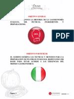 Manual Cocina Italiana 2017