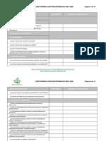 Check List rio Auditoria Iso 9001 2008