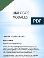 Dialogo s Modales Java