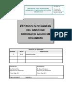 Pt Urg 13 Protocolo de Manejo Del Sindrome Coronario Agudo en Urgencias Normalizado