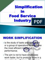 Work Simplification NEW