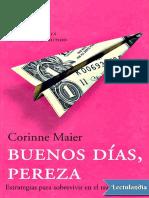 Buenos Dias, Pereza - Corinne Maier