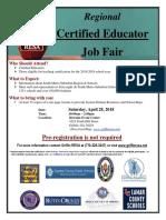 Regional Educator Recruitment Fair (100+ Principals from 8 School Systems)