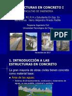 Curso Estruturas en Concreto I - Unidad 1