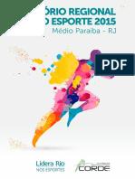 Relatório Regional Do Esporte 2015 MP