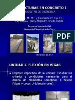 Curso Estruturas en Concreto I - Unidad 2