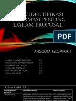 Mengidentifikasi Informasi Penting Dalam Proposal