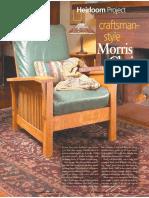 Morris Chair Plan