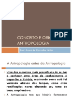 Conceito e Origem Da Antropologia