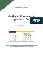 Análisis Diámetros
