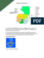 Regiones de Nuestros Pais