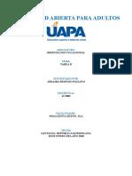 Universidad Abierta Para Adulto (UAPA) Tarea 2 Orientacion Vocacional