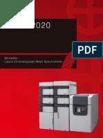 Cromatógrafo Líquido Con Detector de Masas C146E121 LCMS 2020