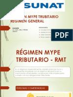 Régimen Mype Rmt 2018 A
