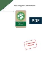 3 Programa de Cero Papel PCP