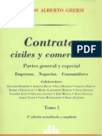 Ghersi, Carlos a. - Contratos Civiles y Comer CIA Les (Tomo I)