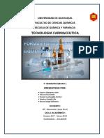 farmaco Liquidas, Esteriles y No Esteriles