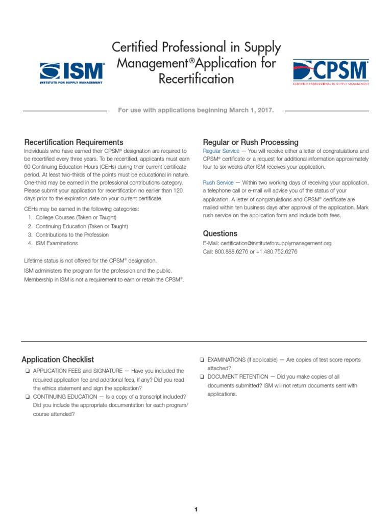 Cpsmrecertapp Mail Academic Term