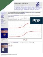 PSTricks Pst-plot Examples