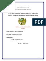 Trabao de Mineria y Medio Ambiente Monografia PDF Corregido