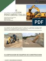 Equipos de Construccion Para Obras Viales Correcciones