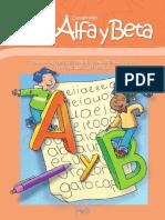 Cuadernillo Alfa y Beta